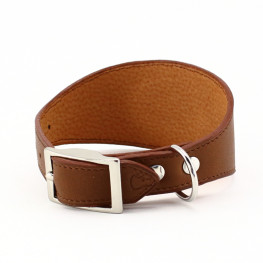 Collier en cuir pour chien, made in France !
