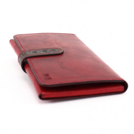 Etui Iphone cuir rouge