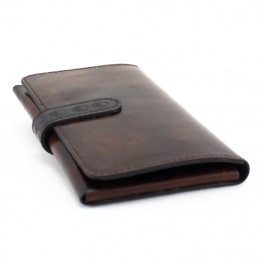 Etui Iphone cuir marron