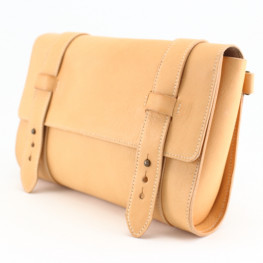 Sac-pochette cuir made in France